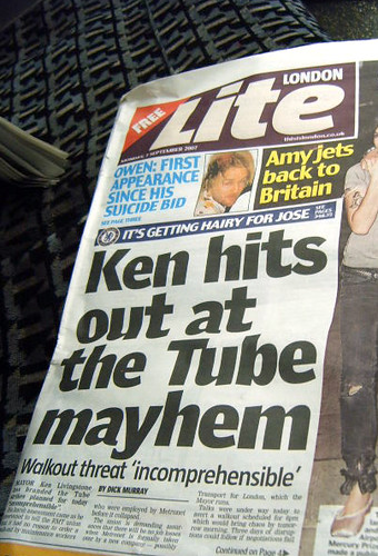 Tube Mayhem in London Lite