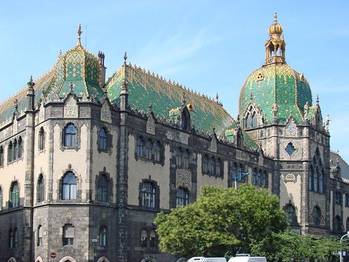 Le musée des arts décoratifs de Budapest