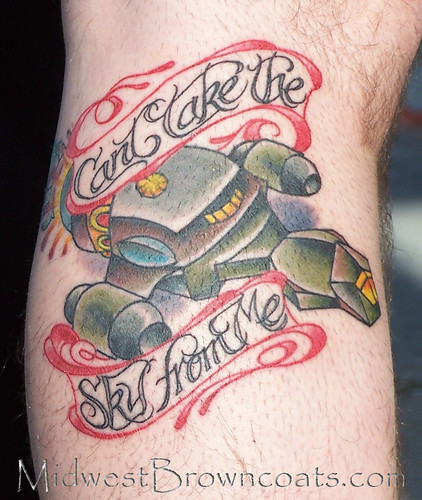 This tattoo was done for Free Tattoo Day at Liquid Courage Tattoo in Omaha,