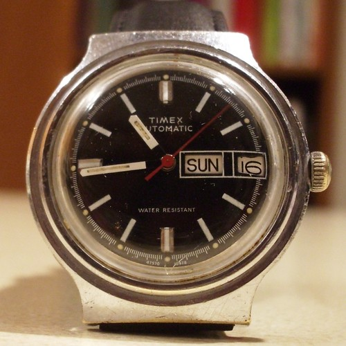 Timex 1978 Automatic Day Date Diver In Process
