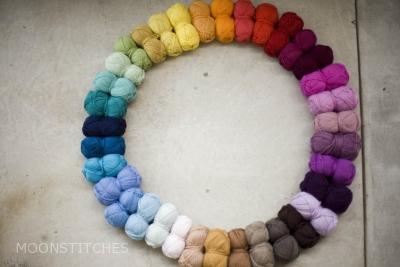 Munsell merino 150, Rainbow