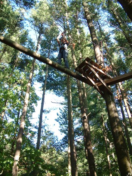High rope challenge 031