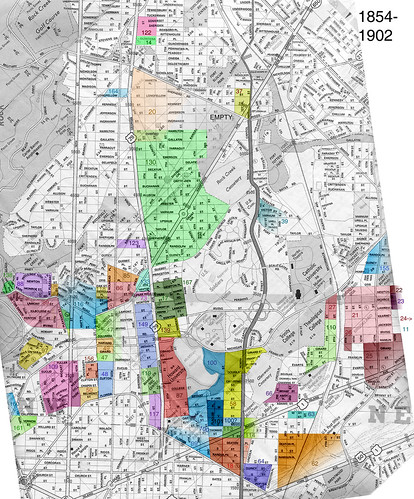 Petworth Dc Map.Popville Dc Neighborhood Names From Back In The Day From A Reader