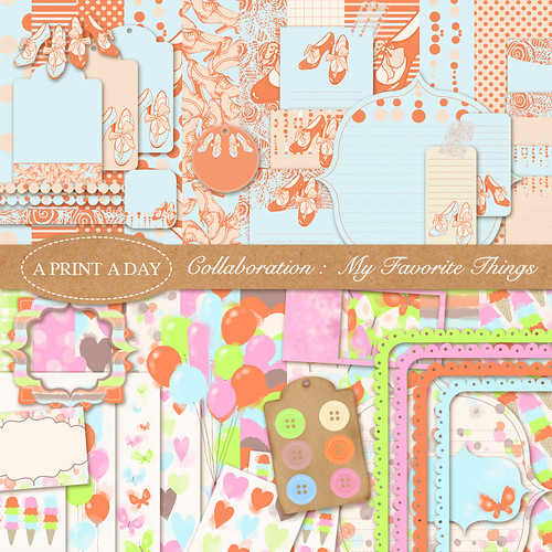 scrapbooking kit collab with Yasmine Surovec