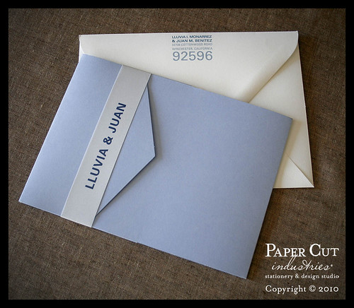 Photo Wedding Announcements Photo Pocket Wedding Invitations