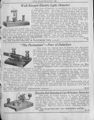 Detectors, 1915