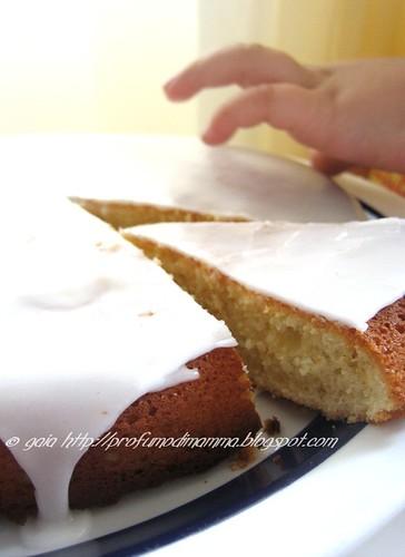 Torta Ricotta e Limone Glassata
