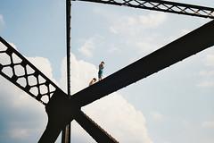 buttzville bridge (imprint777) Tags: summer newjersey jumping traintracks bridges railroadtracks canont70 buttzville bridgejump