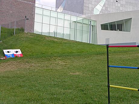 Open Field in back of Walker Art Center