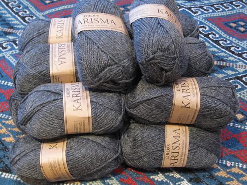IM's aran yarn