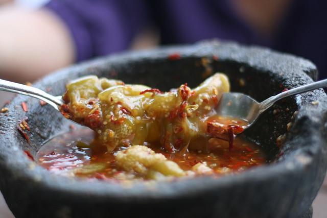salsa fresca de molcajete