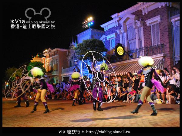 【香港旅遊】跟著via玩香港(2)~迪士尼萬聖節夜間遊行超精彩!14