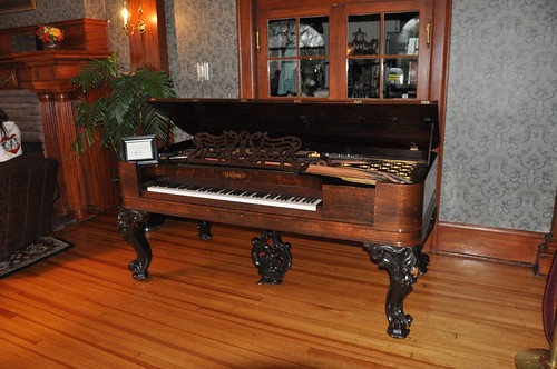 Stanley Hotel - The Piano | Found this story on the web: Whe