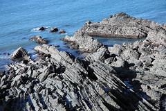 Hartland Quay (Matt.Cas) Tags: ocean light reflection texture beach water rock contrast landscape seaside sand pattern natural sealife rockphotography northdevon hartlandquay beachphotography