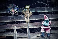 Always Christmas time... (Doubter toad) Tags: italy windmill italia befana babbonatale girandola fienile hayloft valdifiemme predazzo trentinoaltoadige effettoinvecchiato oldstyleeffect