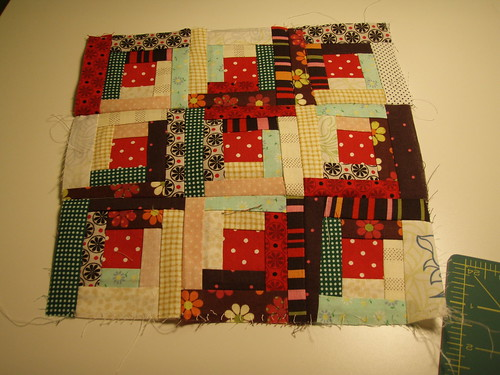 Block#3 in Mystery Quilt