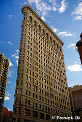 Flatiron Building side view (Forest Wang) Tags: nyc newyork iso200 f90 24mm flatiron 140secatf90 sonydslra230 october312010