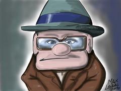UP (Max Lazzi) Tags: art apple brushes caricature fumetti ios mela dito ipad