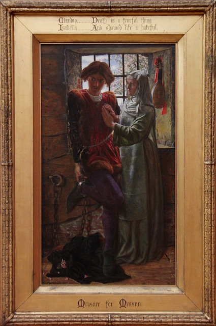 Claudio and Isabella, William Holman Hunt, 1850