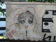 its rainy along the freeway (Deviker-PR) Tags: seattle street art sketches raincoat