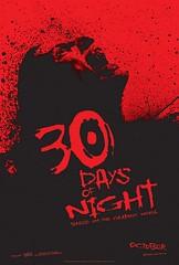 Póster y trailer de '30 days of night' de David Slade