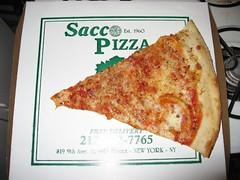 Sacco Pizza Slice