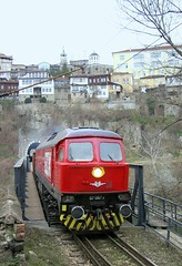 Bulgaria State Railways, freight passing through the tunnel under Veliko Tarnevo, February, 2007 (Ivan S. Abrams) Tags: arizona canon20d ivan trains bulgaria getty balkans abrams railways lada trainspotting sovietunion gettyimages railroads ussr ludmilla smrgsbord tucsonarizona lyudmila railfans 12608 trainwatching madeinussr diesellocomotives railwayenthusiasts europeanrailways onlythebestare internationalrailways dieselelectriclocomotives sovietbuiltlocomotives ivansabrams trainplanepro kostadinmihailov madeinsovietunion pimacountyarizona safyan arizonabar kostamihailov arizonaphotographers ivanabrams cochisecountyarizona bulgarianlocomotives worldrailways sovietbuiltrailwayequipment easteneuropeanrailways railwaysofeurope tucson3985 gettyimagesandtheflickrcollection copyrightivansabramsallrightsreservedunauthorizeduseofthisimageisprohibited tucson3985gmailcom ivansafyanabrams arizonalawyers statebarofarizona californialawyers copyrightivansafyanabrams2009allrightsreservedunauthorizeduseprohibitedbylawpropertyofivansafyanabrams unauthorizeduseconstitutestheft thisphotographwasmadebyivansafyanabramswhoretainsallrightstheretoc2009ivansafyanabrams abramsandmcdanielinternationallawandeconomicdiplomacy ivansabramsarizonaattorney ivansabramsbauniversityofpittsburghjduniversityofpittsburghllmuniversityofarizonainternationallawyer