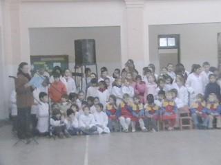 Acto del 9 de Julio en el Instituto la Santisima Trinidad
