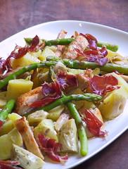 Spanish smoked paprika chicken salad