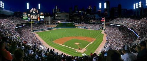 Detroit Tigers at Comerica Park by chinkon