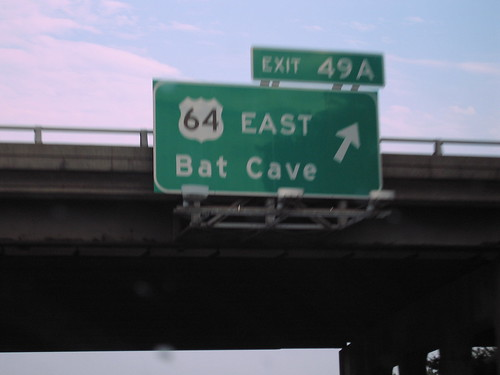 Batman lives in North Carolina by Chor Ip