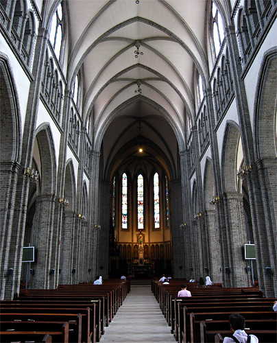 Interior, Myeongdong Cathedral