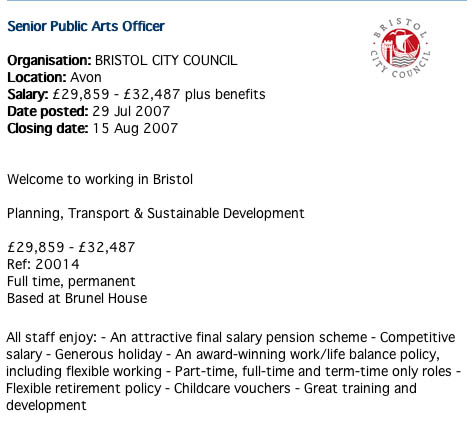 Public Arts Officer
