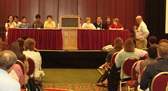 Evening teen panel moderated by Stephen Abram