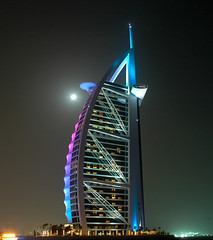 Burj Night Shot