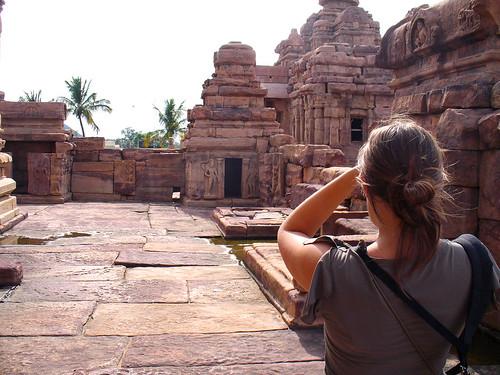 Flo à Pattadakal