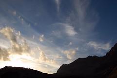 Swiss mountains 2007-08-27 (sunnybeauty) Tags: sunset summer sky hiking swissmountains