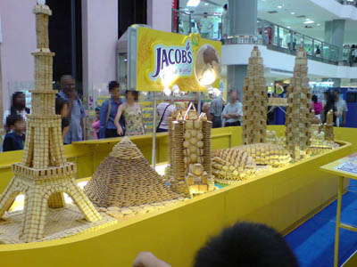 Biscuit Sculptures in Singapore