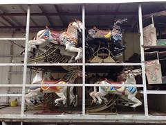 Carousel horses off to market (hugovk) Tags: cameraphone autumn horses france nokia brittany market bretagne carousel off breizh september 24 hvk 2007 syksy 8gb llydaw n95 auray syyskuu ranska hugovk camera:Make=nokia exif:Focal_Length=56mm exif:ISO_Speed=160 nokian958gb 03092007025 kerrdismounted exif:Flash=autodidnotfire exif:Aperture=28 exif:Exposure=153 exif:Orientation=horizontalnormal camera:Model=n958gb carouselhorsesofftomarket meta:exif=1380191359