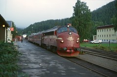 Train at Fagernes (Steve Selwood) Tags: station train railway class nsb fagernes di3a fagernesrailwaystation