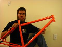 IMG_4257.JPG (ademrudin) Tags: orange me 853 reynolds nashbar steelisreal canonpowershots3is nashbarsignature853 newbikeframe