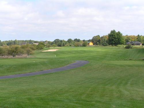 10th hole, Heathlands Golf Course, Onekama, Michigan