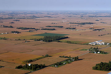 Indiana from the Air