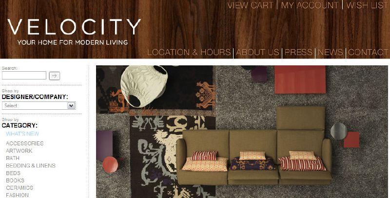 Velocity Art + Design *New* Site & Showroom