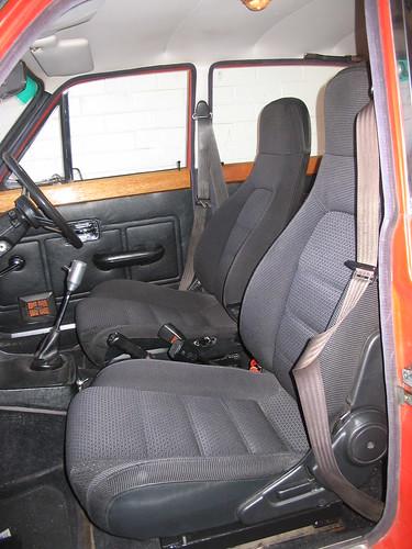 MX5 seats