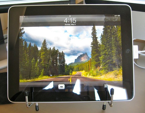 iPad stand horizontal