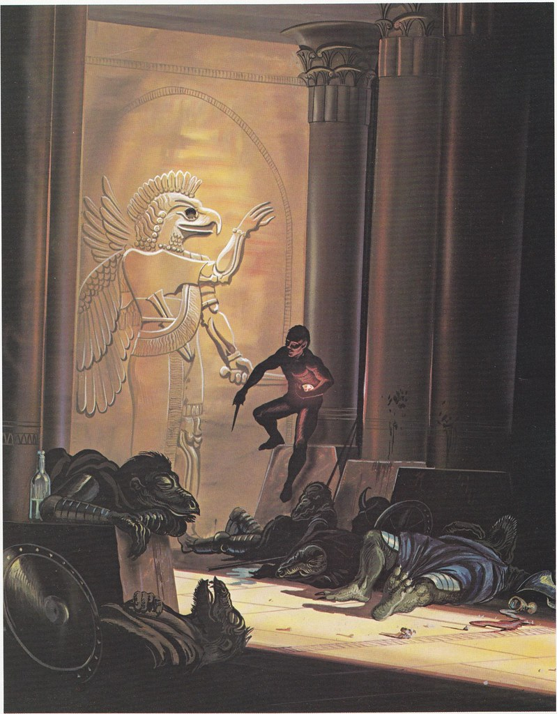 Down In The Dungeon - Don Greer, Rob Stern  (Squadron-Signal_1981)-Guardians Of The Temple