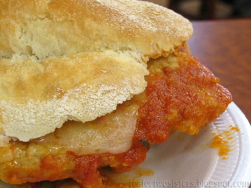 Veal Parmesan Sandwich 2