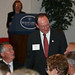 Richard Rush  greeting guests of Leadersip Dinner