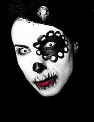Death Stare (SoulStealer.co.uk) Tags: portrait london halloween blog october alternative 2010 soulstealer whitemischief